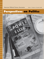 Perspectives on Politics Volume 7 - Issue 4 -