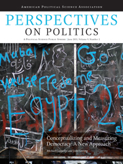 Perspectives on Politics Volume 9 - Issue 2 -