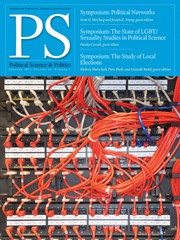 PS: Political Science & Politics Volume 44 - Issue 1 -