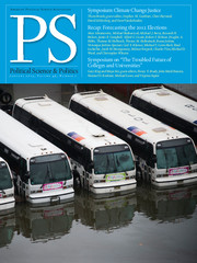PS: Political Science & Politics Volume 46 - Issue 1 -