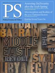 PS: Political Science & Politics Volume 46 - Issue 4 -