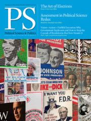 PS: Political Science & Politics Volume 49 - Issue 1 -