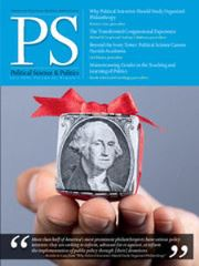 PS: Political Science & Politics Volume 49 - Issue 3 -