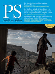 PS: Political Science & Politics Volume 50 - Issue 3 -
