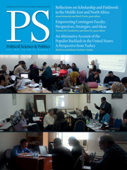 PS: Political Science & Politics Volume 52 - Issue 3 -
