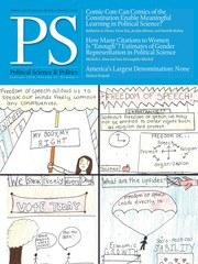 PS: Political Science & Politics Volume 53 - Issue 1 -