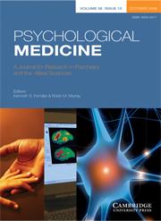 Psychological Medicine Volume 38 - Issue 10 -