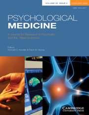 Psychological Medicine Volume 38 - Issue 2 -