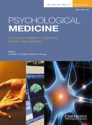 Psychological Medicine Volume 38 - Issue 3 -