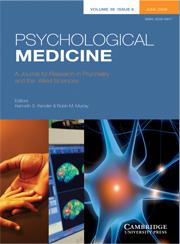 Psychological Medicine Volume 38 - Issue 6 -