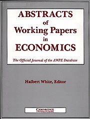 Abstracts of Working Papers in Economics