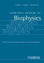 Quarterly Reviews of Biophysics Volume 37 - Issue 1 -