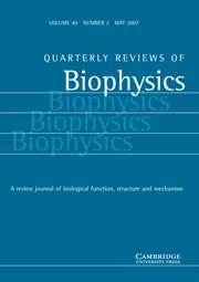 Quarterly Reviews of Biophysics Volume 40 - Issue 2 -