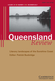Queensland Review Volume 24 - Issue 2 -