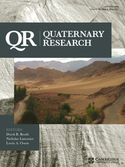 Quaternary Research Volume 87 - Issue 3 -
