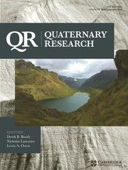 Quaternary Research Volume 89 - Issue 1 -  Tribute to Daniel Livingstone and Paul Colinvaux