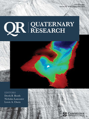 Quaternary Research Volume 90 - Issue 2 -