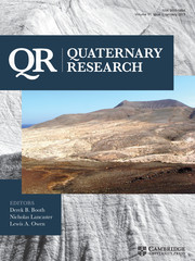 Quaternary Research Volume 91 - Issue 1 -