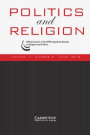 Politics and Religion Volume 11 - Issue 2 -