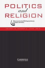Politics and Religion Volume 12 - Issue 2 -