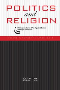 Politics and Religion Volume 8 - Issue 1 -