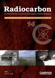 Radiocarbon Volume 61 - Issue 4 -