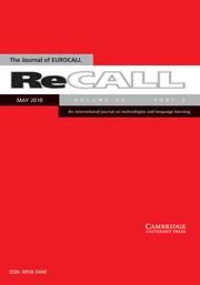 ReCALL Volume 22 - Issue 2 -