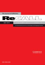 ReCALL Volume 31 - Issue 2 -
