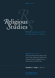Religious Studies Volume 47 - Issue 2 -