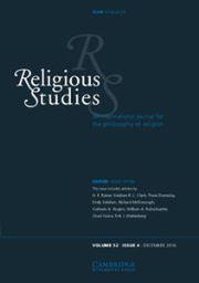 Religious Studies Volume 52 - Issue 4 -