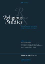 Religious Studies Volume 53 - Issue 2 -