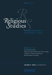 Religious Studies Volume 54 - Issue 4 -