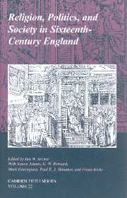 Royal Historical Society Camden Fifth Series Volume 22 - Issue  -