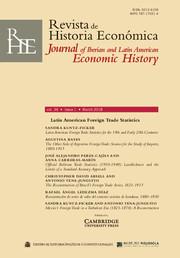 Revista de Historia Economica - Journal of Iberian and Latin American Economic History Volume 36 - Issue 1 -