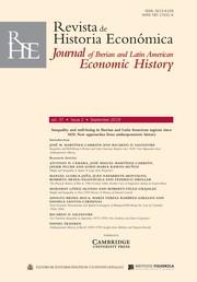 Revista de Historia Economica - Journal of Iberian and Latin American Economic History Volume 37 - Issue 2 -