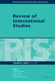 Review of International Studies Volume 40 - Issue 3 -