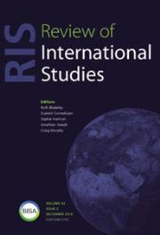Review of International Studies Volume 42 - Issue 5 -