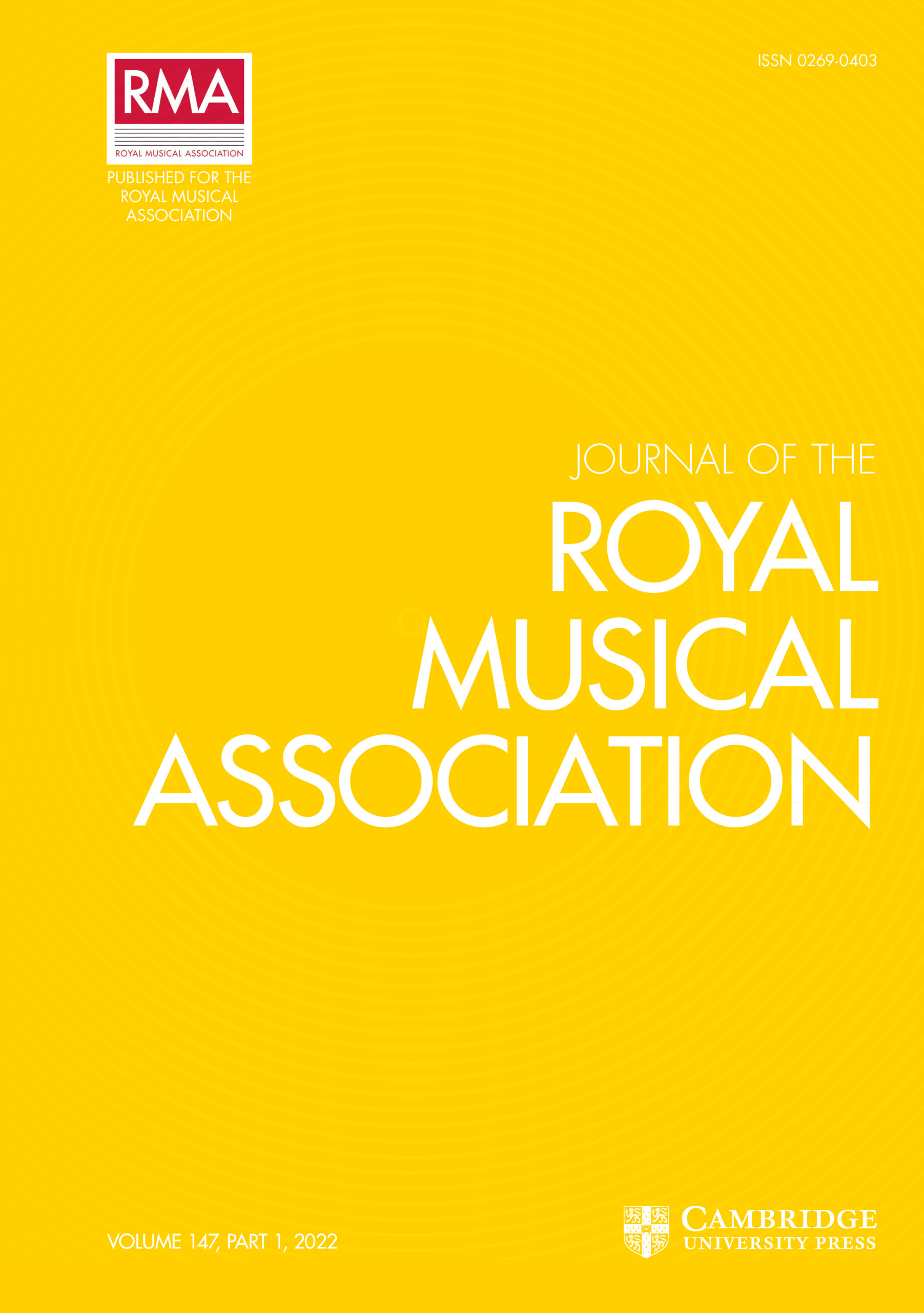 Journal of the Royal Musical Association