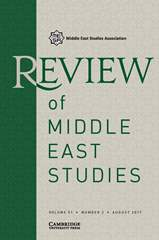 Review of Middle East Studies Volume 51 - Issue 2 -