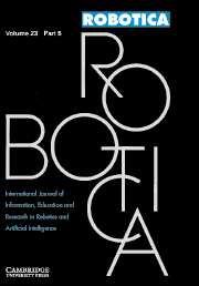 Robotica Volume 23 - Issue 5 -