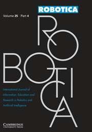 Robotica Volume 25 - Issue 4 -