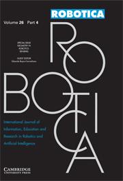 Robotica Volume 26 - Issue 4 -  Geometry in Robotics: Sensing