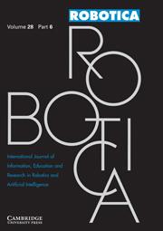 Robotica Volume 28 - Issue 6 -