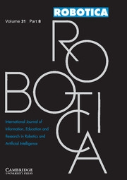 Robotica Volume 31 - Issue 8 -