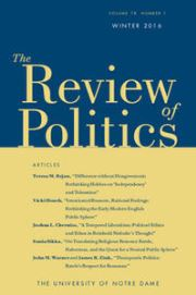 The Review of Politics Volume 78 - Issue 1 -