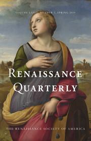 Renaissance Quarterly Volume 72 - Issue 1 -