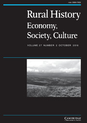 Rural History Volume 27 - Issue 2 -