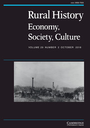 Rural History Volume 29 - Issue 2 -