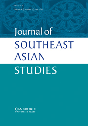 Journal of Southeast Asian Studies Volume 41 - Issue 2 -