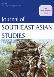 Journal of Southeast Asian Studies Volume 47 - Issue 3 -